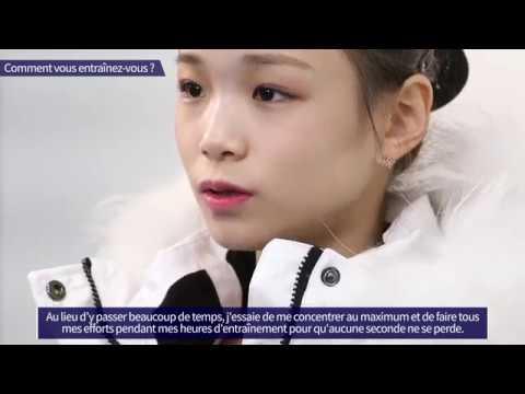 (FRA) Interview De LIM Eun-soo, Patineuse Artistique