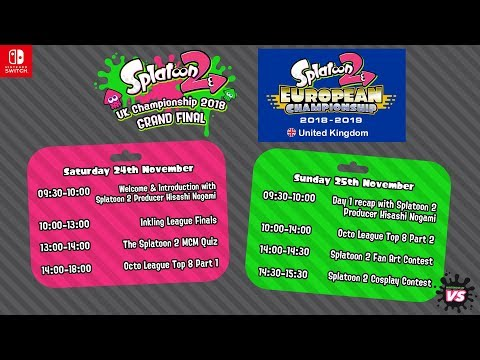 Splatoon 2 UK Championship 2018 Grand Final