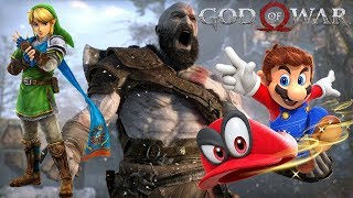 Major News: God of War Is The Best Reviewed Game Since Breath of the Wild