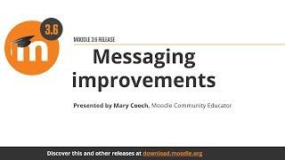 Messaging improvements