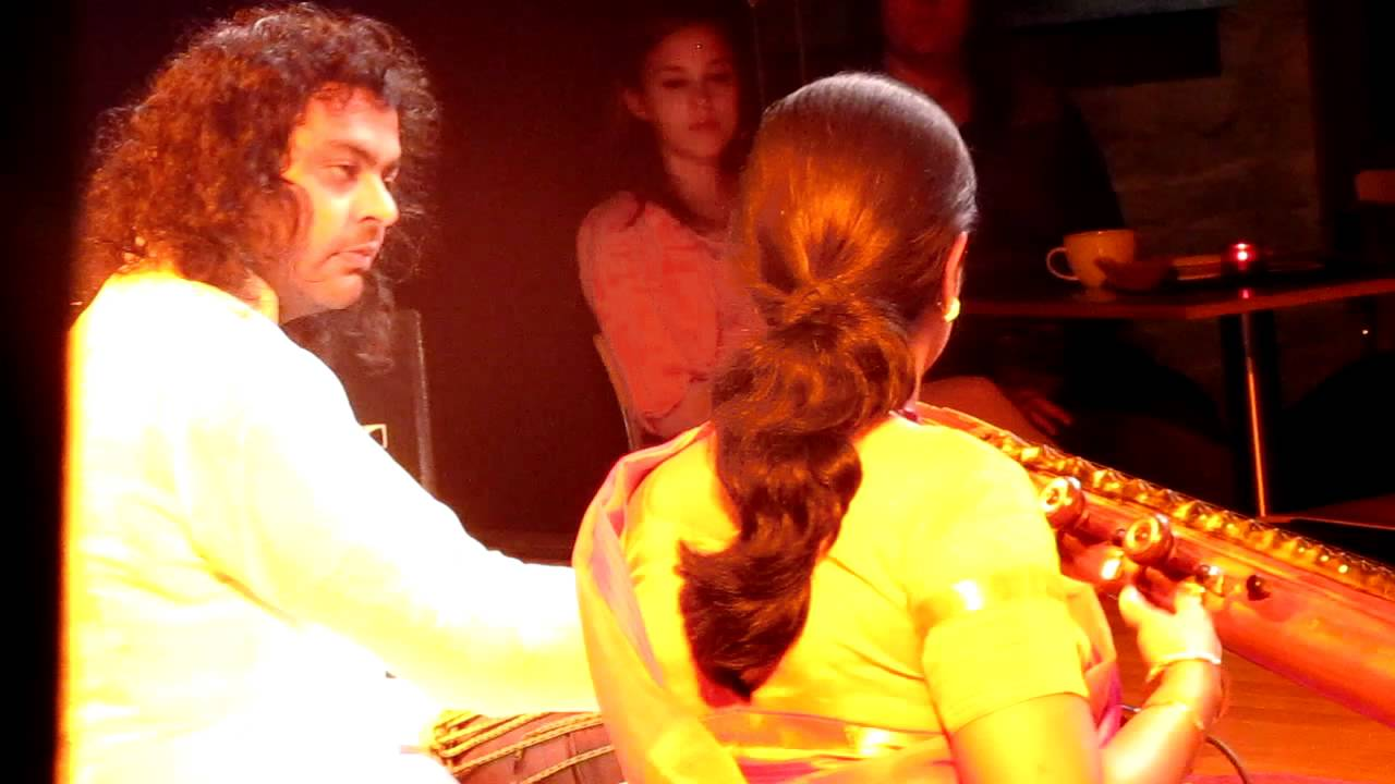 PATRI SATISH KUMAR with JAYANTHI Veena