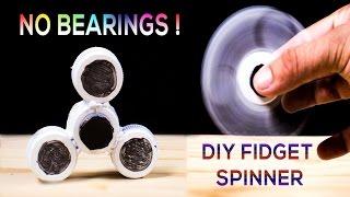 DIY Fidget Spinner NO BEARINGS