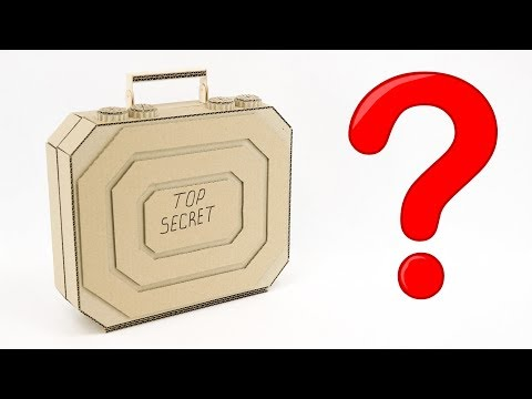 How to Make an Elite Cardboard Suitcase at Home