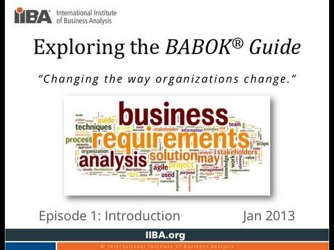 Exploring the BABOK Guide - ETBG s01e01