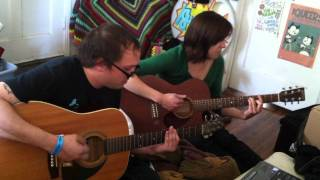 Mikey Erg & Laura Stevenson - Freak on a Leash cover