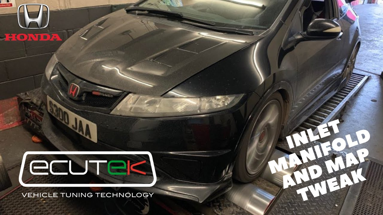 Honda Civic FN2 Type R Inlet Manifold and Ecutek Map Tweak