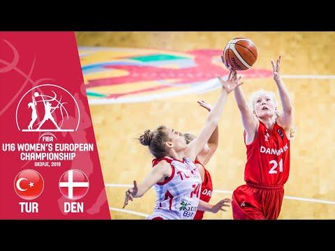 Turkey V Denmark - Full Game - FIBA U16 Women's European Championship 2019