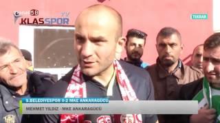 Sivas Belediyespor - Ankaragücü maçı sonrası