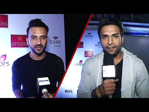 Shaleen Malhotra and Ali Merchant at Mumbai Tigers anthem launch
