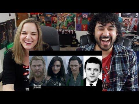 Honest Trailers - THOR: RAGNAROK - REACTION!!!