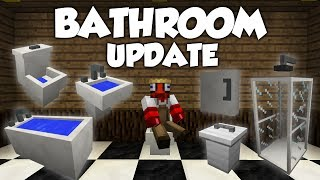 Mrcrayfish's Furniture Mod Showcase: Bathroom Update!