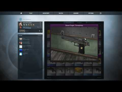 OPEN 2016 CSGO GIVEAWAY 50 SUBSCRIBER SPECIAL DESERT EAGLE CONSPIRACY THANKSGIVING KNIFE GIVEAWAY