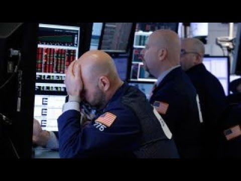 Tech sector leading stock selloff