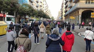 Los hosteleros salen a las calles de Castilla y León para pedir ayuda