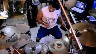 Heavy Metal Ninjas - Design - Drums Cover By JAMAL ALMOHREZ