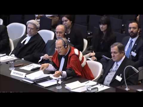Primera ronda ante la CIJ, a cargo de Colombia, de las audiencias orales del caso