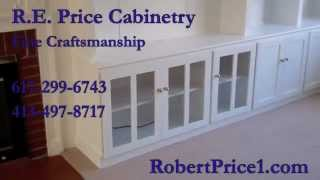 R. E. Price Cabinetry, Built-in Cabinet & Shelving, Newton, Ma
