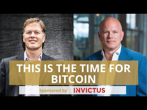 """Mike Novogratz & Dan Morehead Discuss Why """"This Is The Time For Bitcoin"""""""