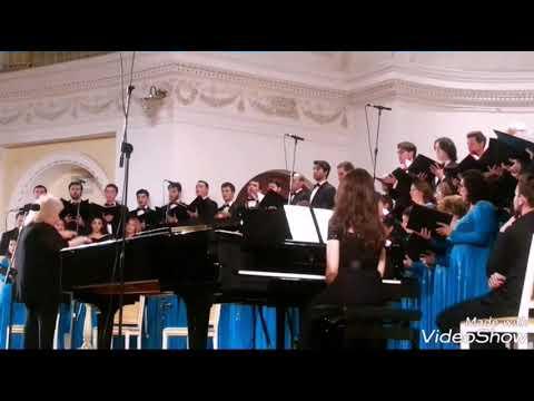 Àzerbaycan Dövlət Kapellasının Konsertinden Fraqment.