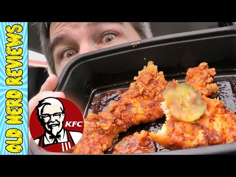 KFC Nashville Hot Chicken Tenders REVIEW