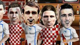 Kafanska Spika - Proslava pobjeda Bosne i Hrvatske