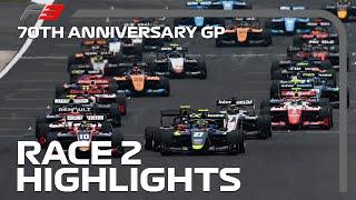 F3 Race 2 Highlights   70th Anniversary Grand Prix 2020