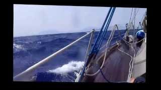 Ustica - San Vito lo Capo 2012 - Bruno, Vito e la barca a vela