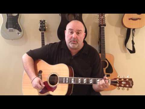 How to Play I'll Have to Say I Love You in a Song - Jim Croce (cover) - Easy 5 Chord Tune