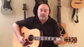 How to Play I'll Have to Say I Love You in a Song - Jim Croce (cover) - Easy 5 Chord Tune