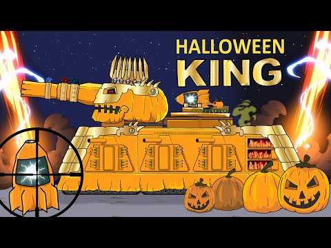 """King of Tank Halloween"" Cartoons about tanks"