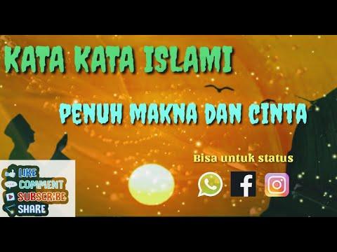 Kata Kata Islami Penuh Makna Penuh Cinta Youtube