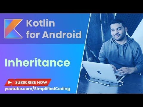 Kotlin Inheritance Tutorial - Inheritance with Example