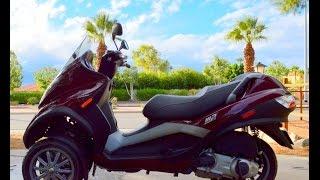 2007 Piaggio Vespa MP3 250 Three Wheel Scooter For Sale www.samscycle.net