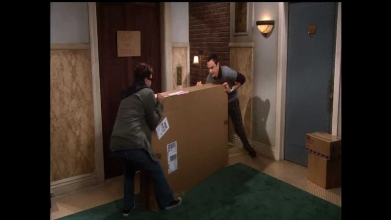 The Big Bang Theory Bringing Penny S Furniture Up The
