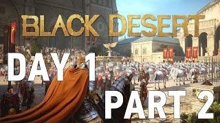 Black Desert KR OBT - Day 1 [Part 2]