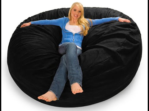 Giant Bean Bags - The Biggest Bean Bags Online - 7 ft Colors - Giant Bean Bags - The Biggest Bean Bags Online - 7 Ft Colors - YouTube