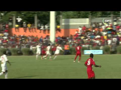 2013 OFC Champions League / Semi-Final 1st Leg / Amicale FC vs Waitakere United
