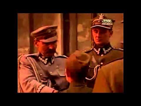 Tadeusz Jeziorowski - udekorowanie Krzyżem Walecznych przez Józefa Piłsudskiego - Płock 1921