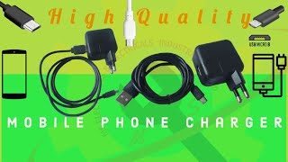 Mobile Phone Charger | Micro USB Charger | Android Phone Charger Nepal |MS Factory Group