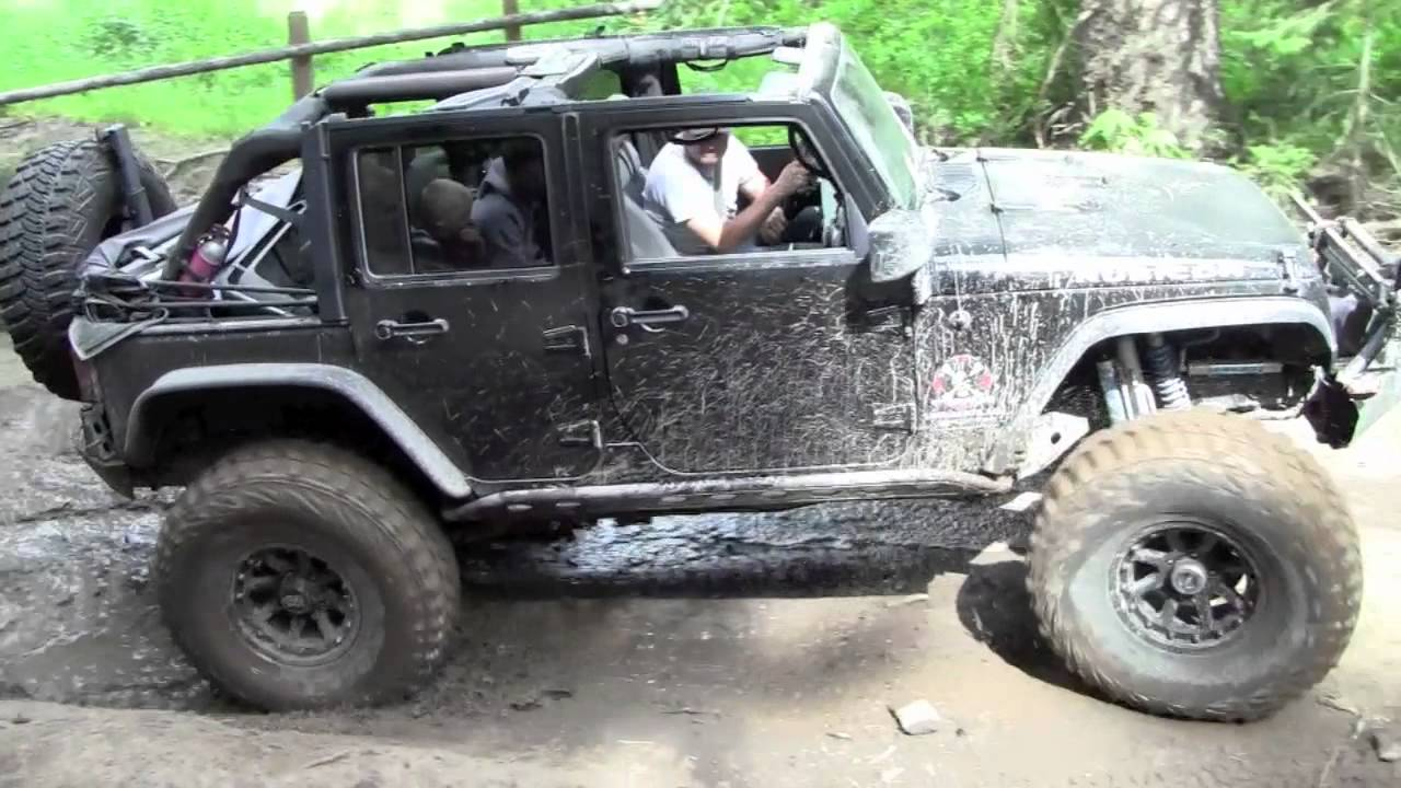 Forrest Lake Trail Jeep Rubicon Unlimited Offroad Youtube