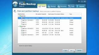 Free system backup software to protect system security - EASEUS Todo Backup