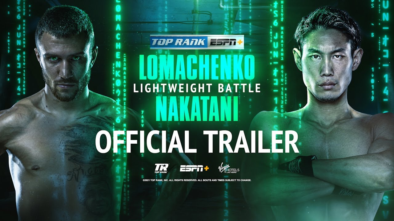 Vasiliy Lomachenko vs Masayoshi Nakatani | OFFICIAL TRAILER