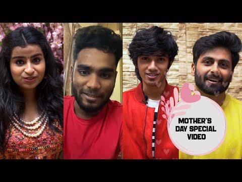Vijay TV Stars Mother's Day Special Video | Ashwin | Sivaangi | Sam Vishal