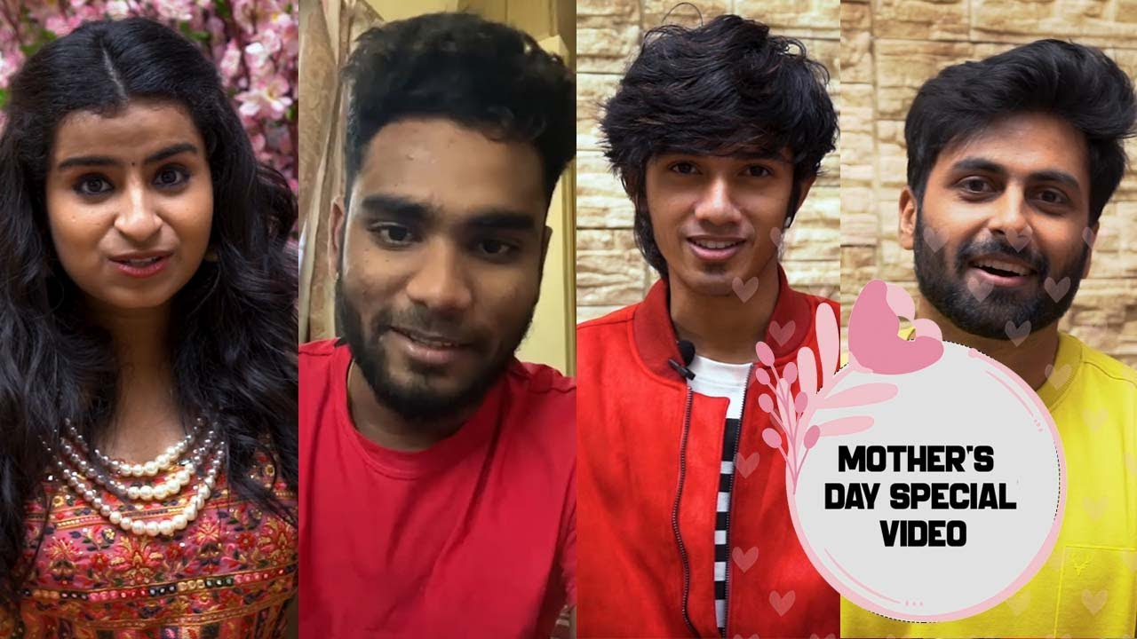 Mother's Day Special Video | Ashwin | Sivaangi | Sam Vishal | Pavithra Lakshmi & Our Vijay Stars