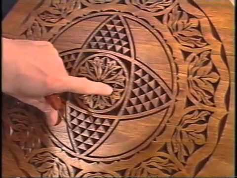 Celtic knot cross wood carving pattern wood carving projects
