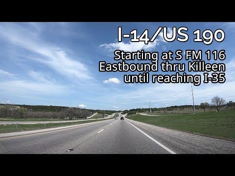 I-14/US 190: Copperas Cove, TX to Belton, TX