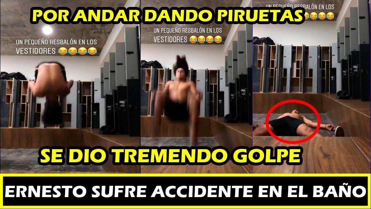 ERNESTO CAZARES GANADOR DE EXTALON SUFRE ACCIDENTE EN BAÑO