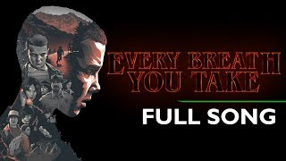 Every Breath You Take - The Police - Lyrics Full Video Song - Stranger Things Season 2