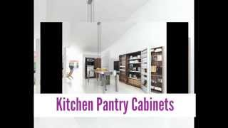 Kitchen Cabinets And Pantry Applicances