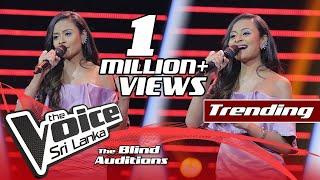 Melani Rodrigo - Ran Tharu Payana (රන් තරු පායන) | Blind Auditions | The Voice Sri Lanka